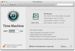 mac repair time machine backups